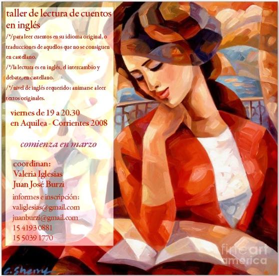 lectura en inglésflyer